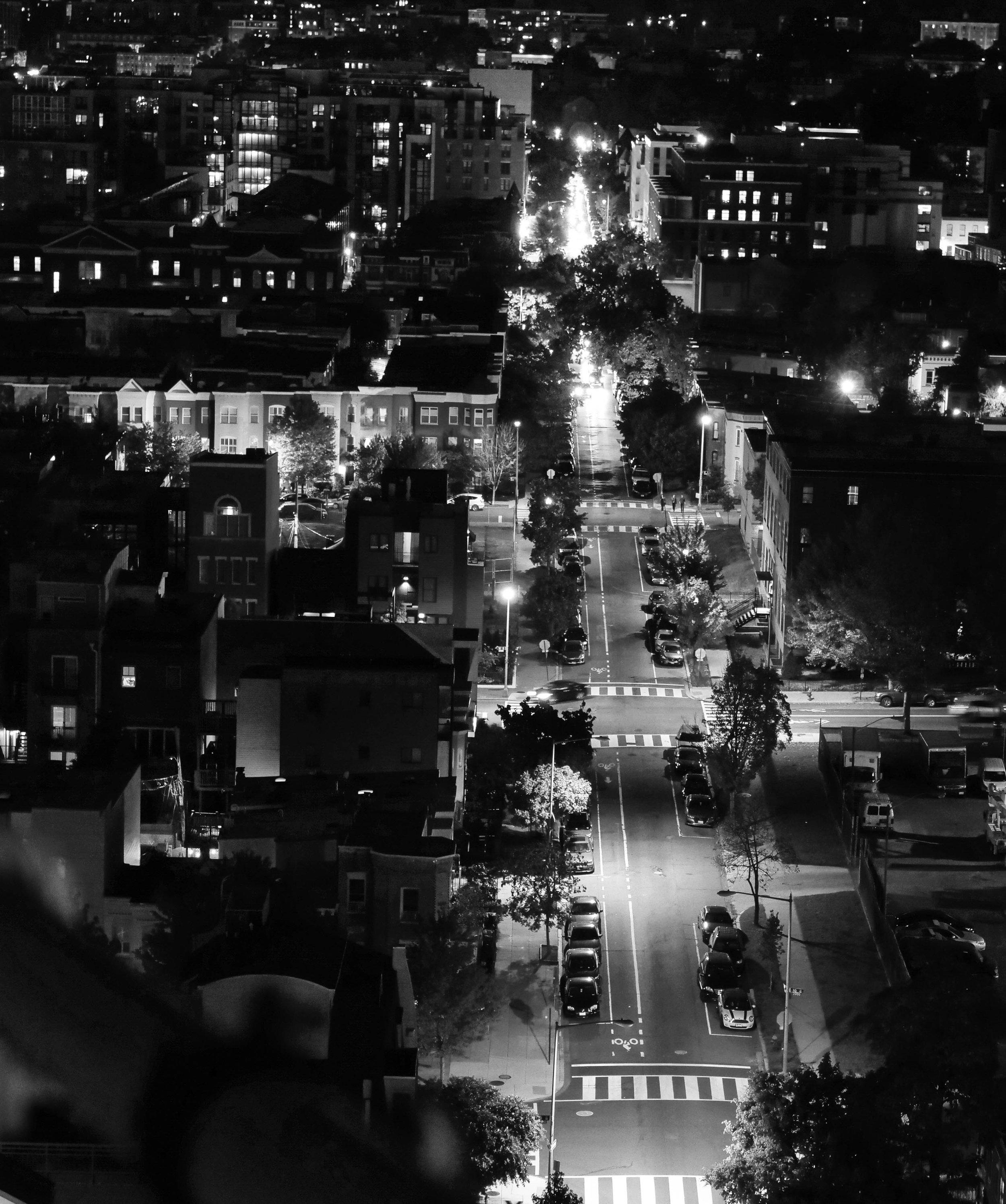 looking down the street bw-1366659.jpg