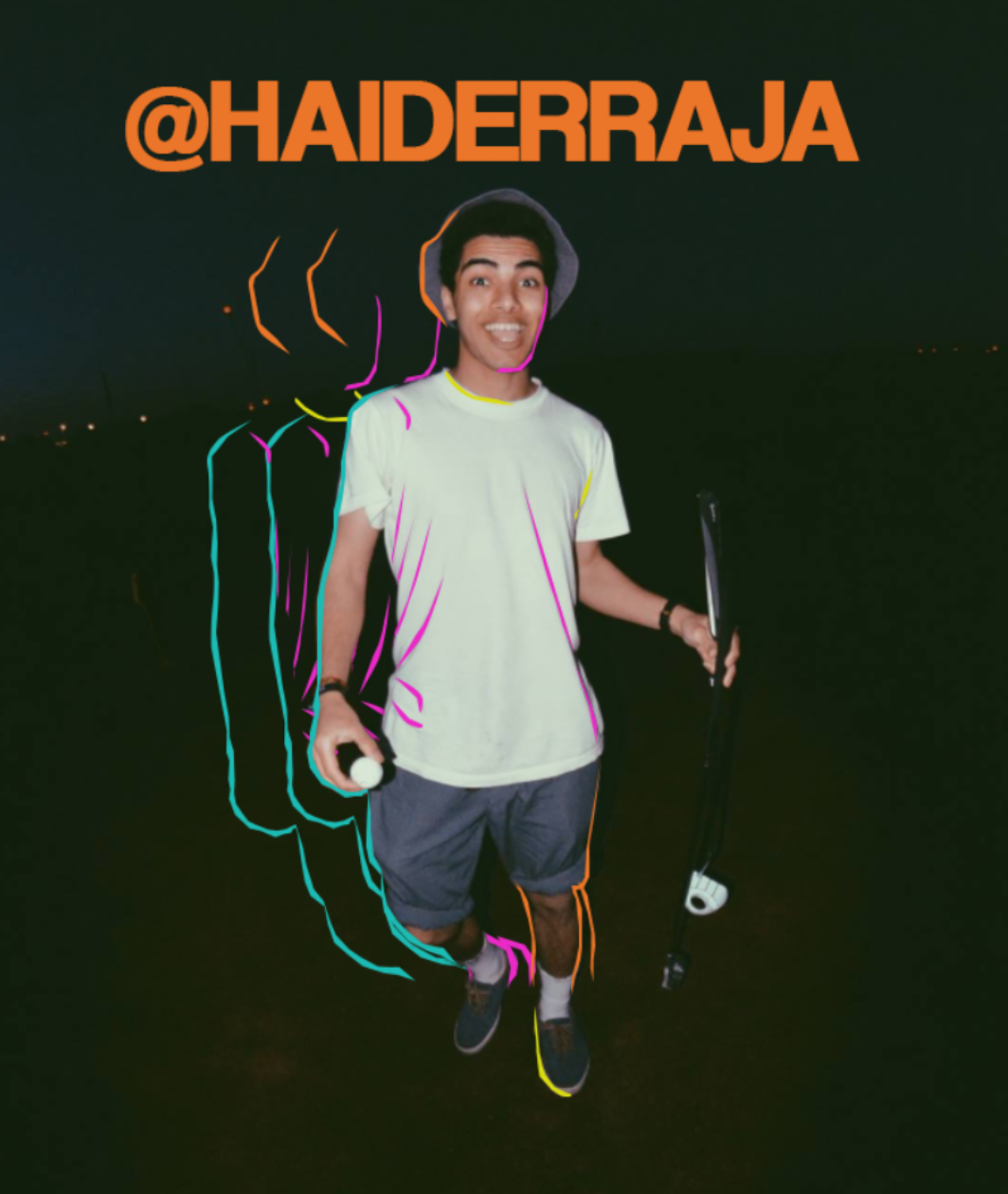JAN/18   Haider Raja  CODE: rapper/songwriter
