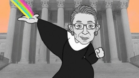 Happy Birthday to the Notorious RBG! #ruthbaderginsburg#rbg#thenotoriousrbg#happybirthday