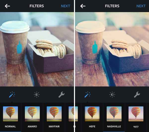 You'll get algorithmically rewarded for using Instagram's in-house filters.