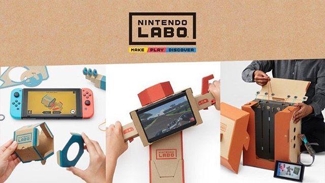 #Nintendo introduces Nintendo Labo, a new, customizable way to play #NintendoSwitch  #Labo #Creative #NextStep #Gaming #MovingOnUp #OddForceFour #OddlySelected