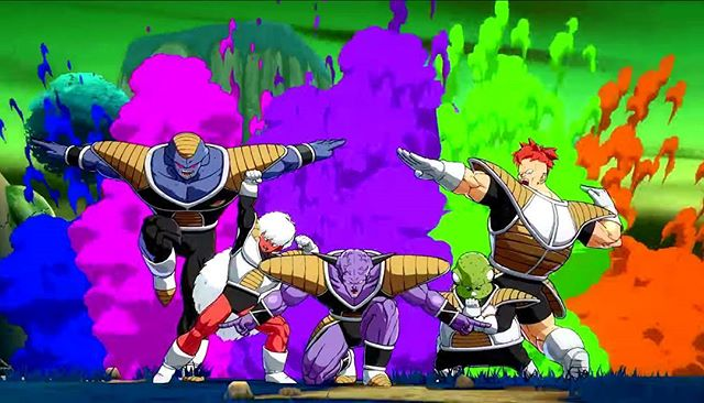 When you and the squad can't contain the hype that is #DragonBallFighterZ Is it midnight yet?  #FlexHard #Pose #SquadGoals #Legit #GinyuForce #Midnight #Bandai #ChildhoodDreams #Friday #PS4 #XB1 #Fight #OddForceFour #OddlySelected