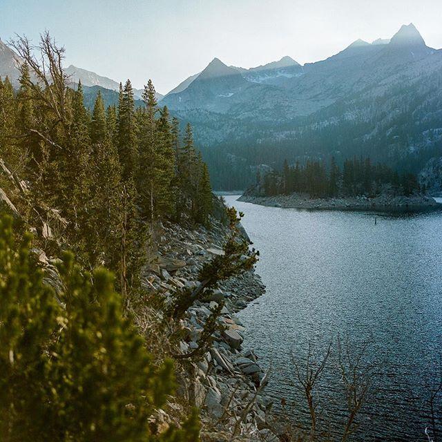 Alpine lakes are the best lakes ————————— #landscape #landscapephotography  #film #ishootfilm #analog #analogphotography #nature #kodak #portra #bronica #bronicasq #6x6 #6x6film #contrast #mediumformat #mediumformatfilm #nationalforest #publicland
