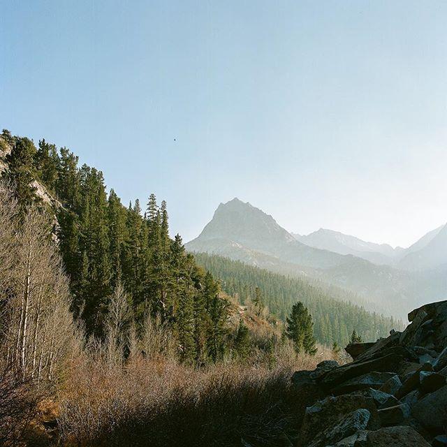 High Sierra ————————————— #landscape #nature #contrast #film #ishootfilm #analog #analogphotography #kodak #portra #bronica #6x6 #mediumformat #mediumformatfilm #mountains