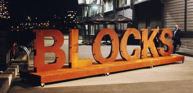 THE BLOCKS  |  EVENT / PRODUCT LAUNCH SYDNEY PIER 2/3