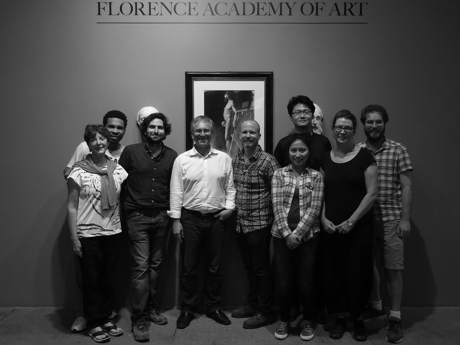 florence academy of art ny masterclass with richard payne
