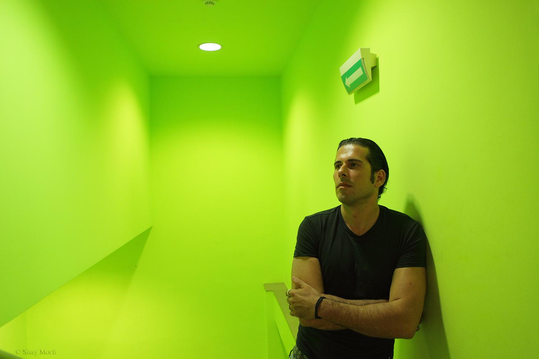 Diamandis Karanastasis / actor-director / Metropolis No 1001
