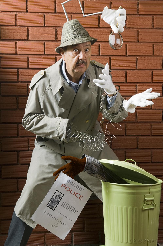 "Tasos Kostis / actor-voice actor in the animation ""Inspector Gadget"""