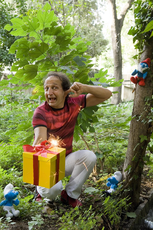 """Spiros Bibilas / actor-voice actor in the animation """"Smurfs"""""""