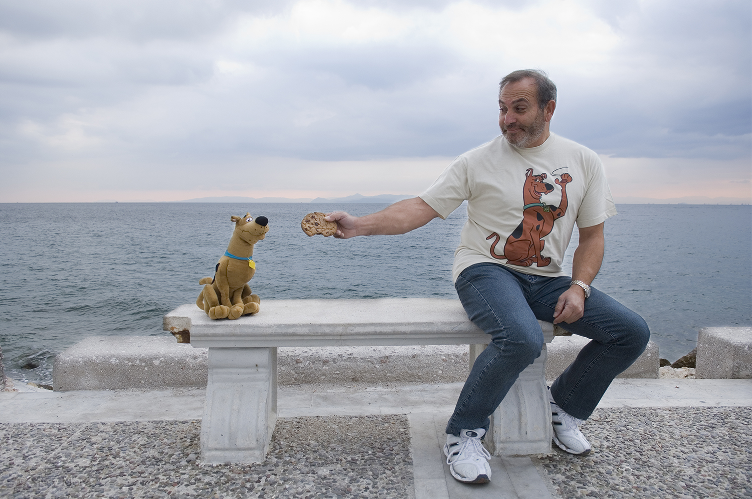 """Vasilis Kailas / actor- voice actor in the animation """"Scooby Doo"""""""
