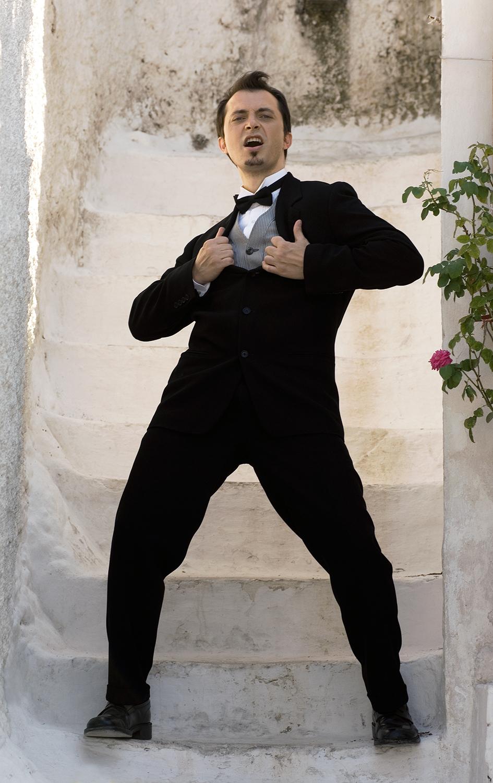 George Costacos / actor / Vmen No 18
