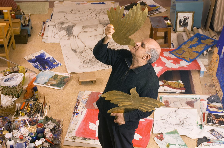 Alekos Fassianos / painter-artist / BHMagazino No 324