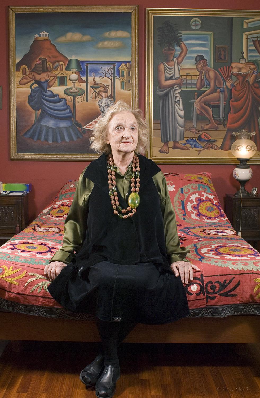 Lena Egonopoulou / wife of the famous painter and poet, Nikos Egonopoulos / BHMagazino No 333