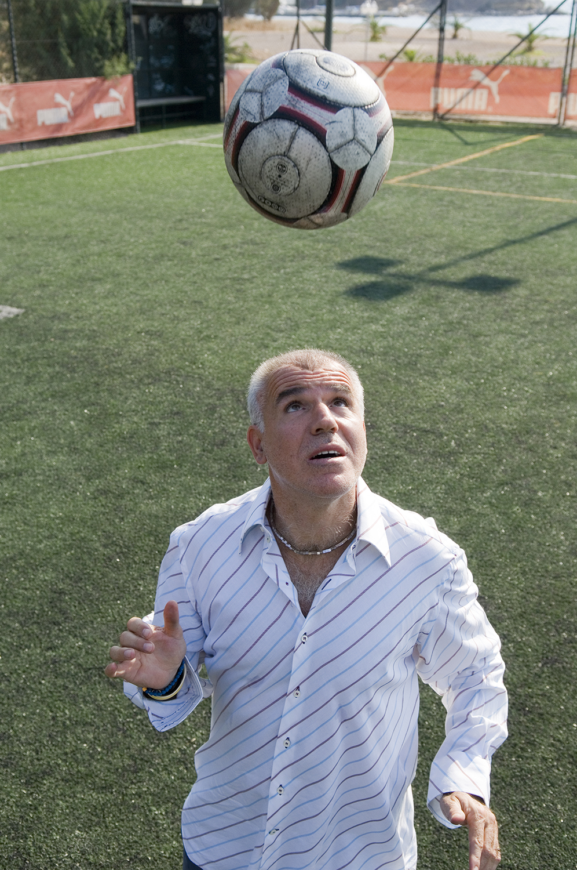 Nikos Anastopoulos / football player / SMS Sportday No 27