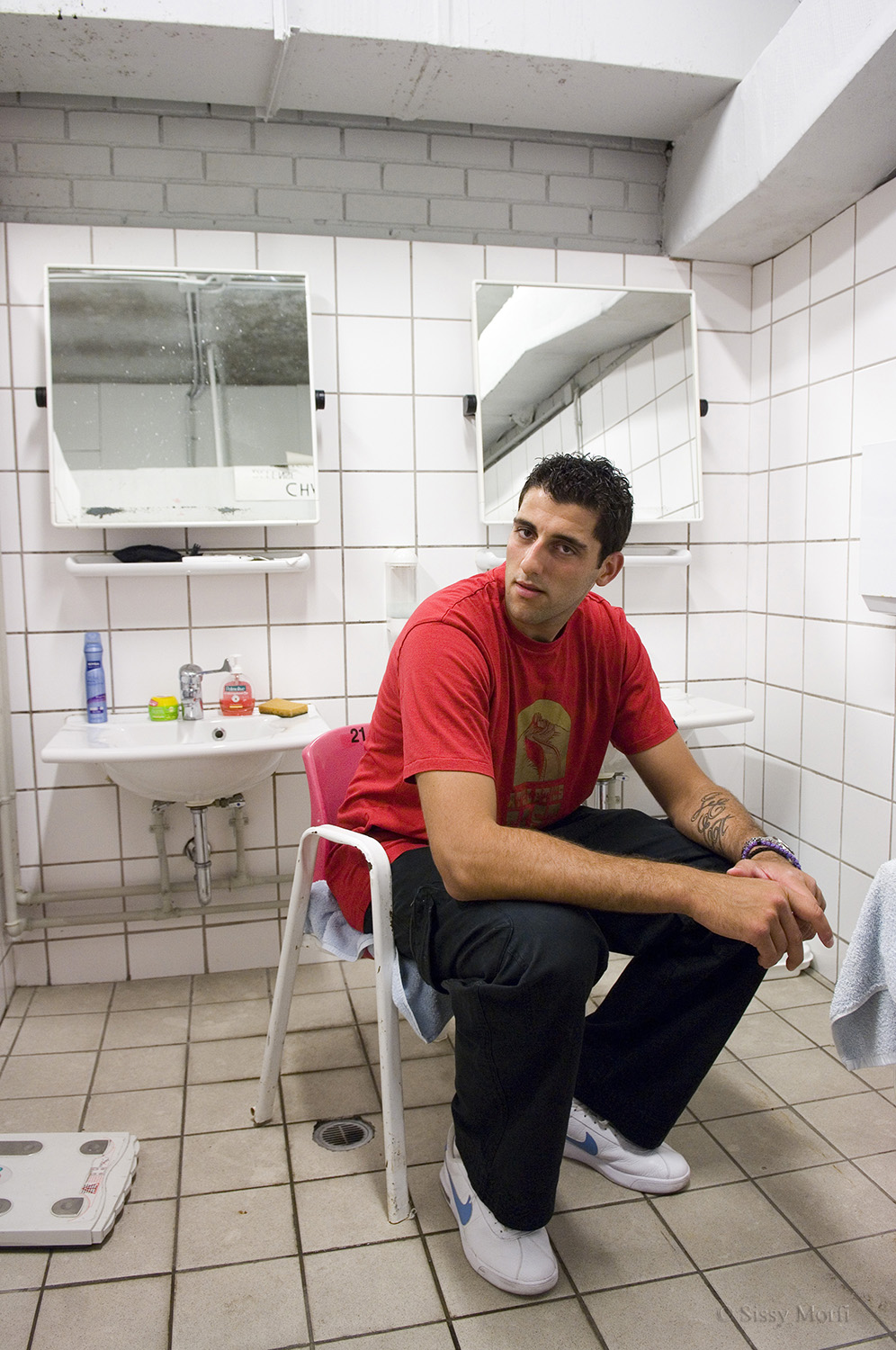 Yannis Boutousis / basketball player / ACTIVE Augoust 2008