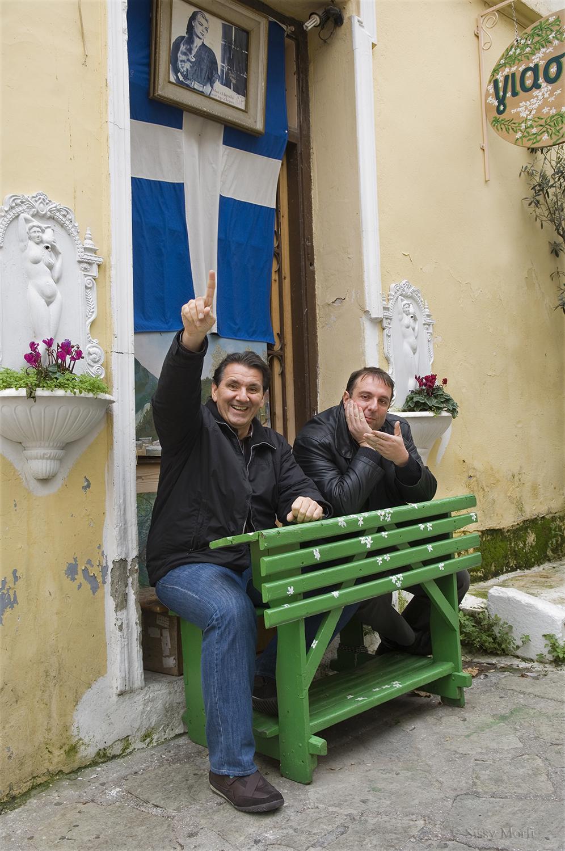 Minas Tsamopoulos-Yorgos Thanailakis / journalists / SMS Sportday No 86