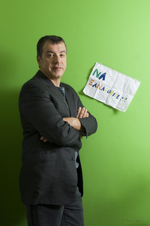 Stavros Theodorakis / journalist / SMS Sportday No 83