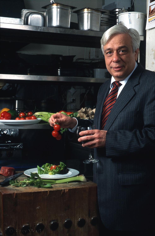 Prokopis Pavlopoulos  / president of the Greek republic / MEN 128