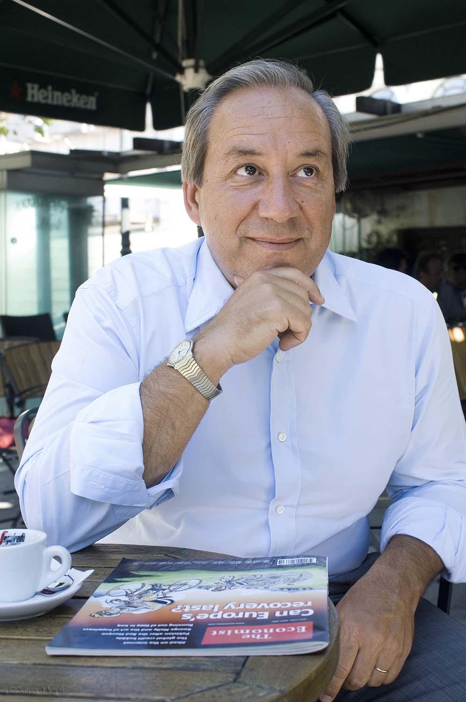 Yorgos Alogoskoufis politician BHMagazino No 358