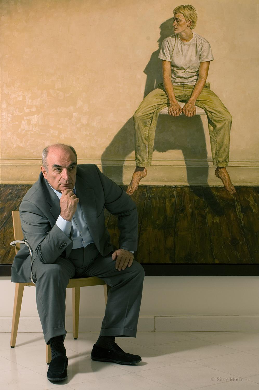 """Vlassis Frissiras / collector-founder of the  """"Frissiras Museum"""" Vmen No 6"""