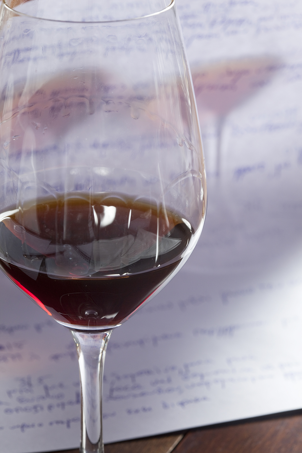 Wine tasting-the notes / BHMAgourmet No 62