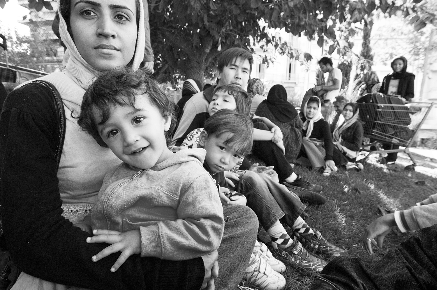 """""""Refugees from Afghanistan in Athens"""" 03"""
