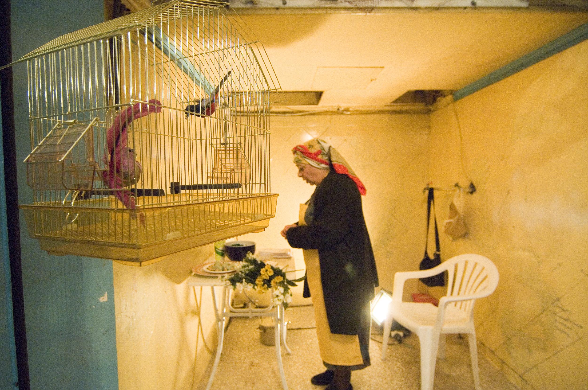 """Talking to Terrorists"" / Municipal market of Kypseli, 2008 / by Robin Soans / directed by Kyriaki Spanou"