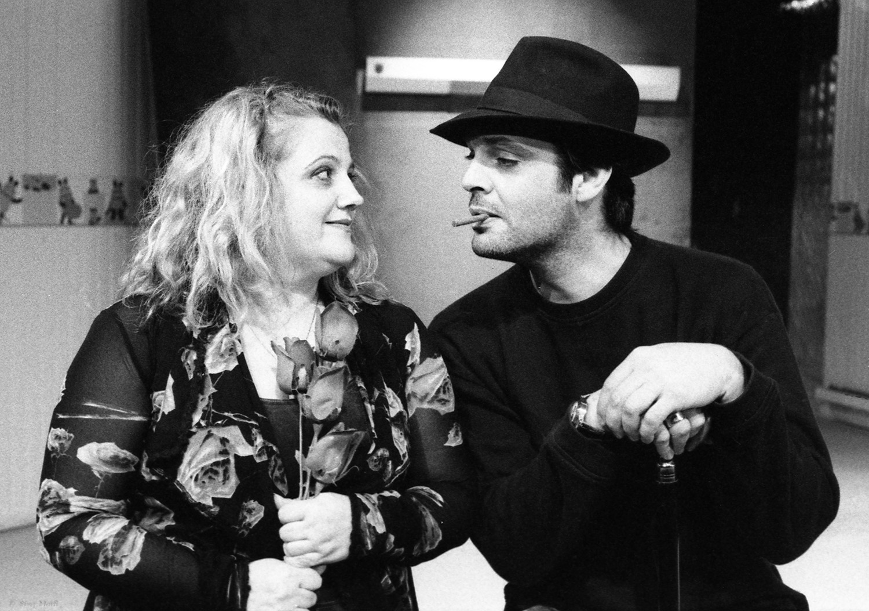 """Mysterious Mr. Love"" / Ilisia Volanakis theatre, 2005 / by Karoline Leach / directed by Elli Papakostantinou"