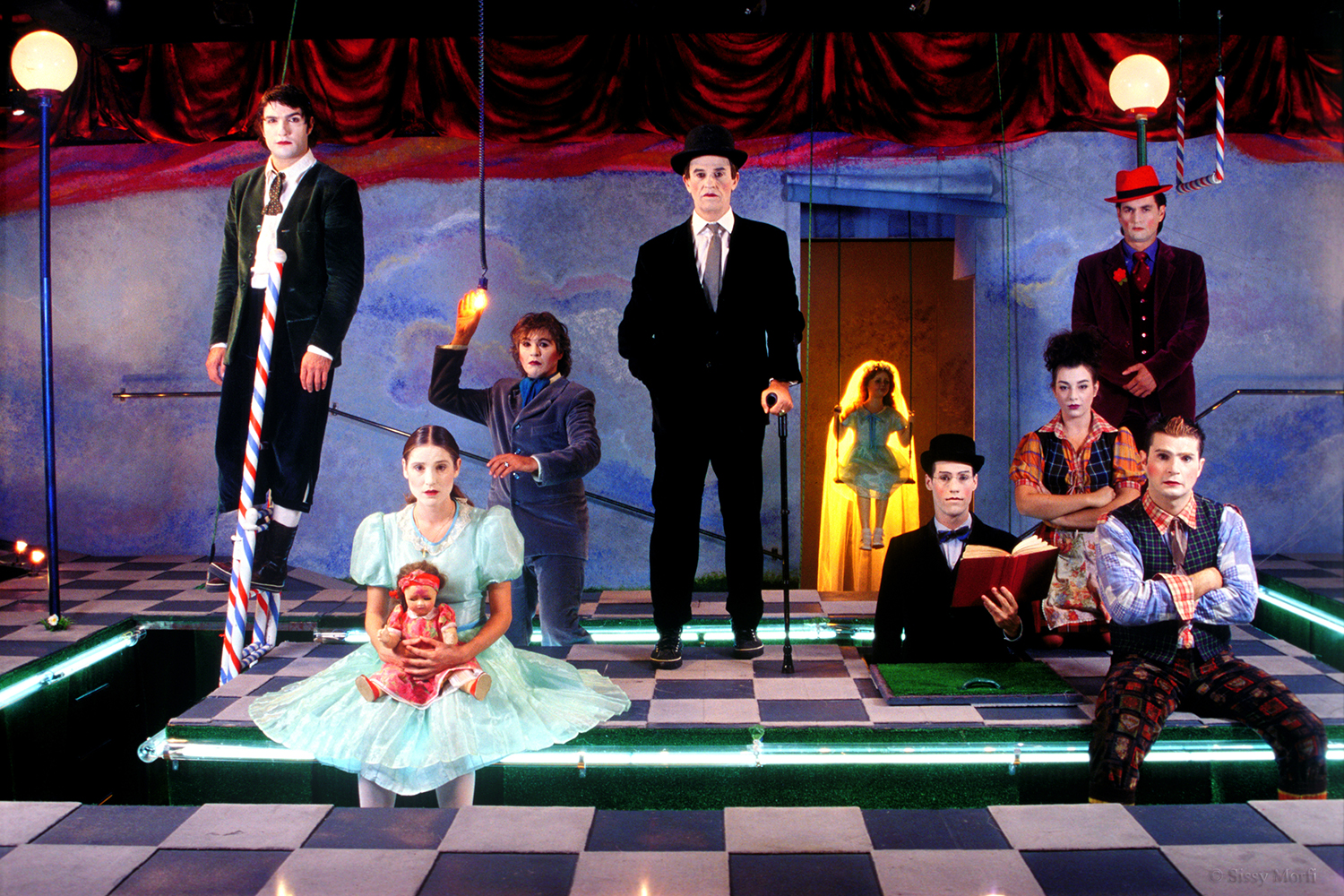 """""""School For Wives"""" / Theatre of the Cyclades Street, 2005 / by Moliere / directed by Lefteris Vogiatzis / MEN No 134"""