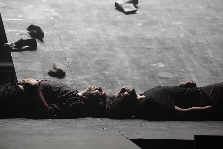 """Mercier and Camier"" / Peiraios 260, 2013 / by Samuel Beckett / directed by Giannis Kakleas / Metropolis No 1034"