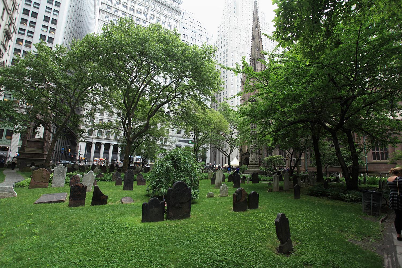 U.S.A. / New York / Trinity Church Cemetery