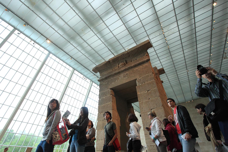 U.S.A. / New York / Metropolitan Museum Of Art / Egyptian section