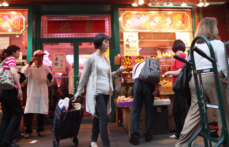 U.S.A. / New York / Chinatown