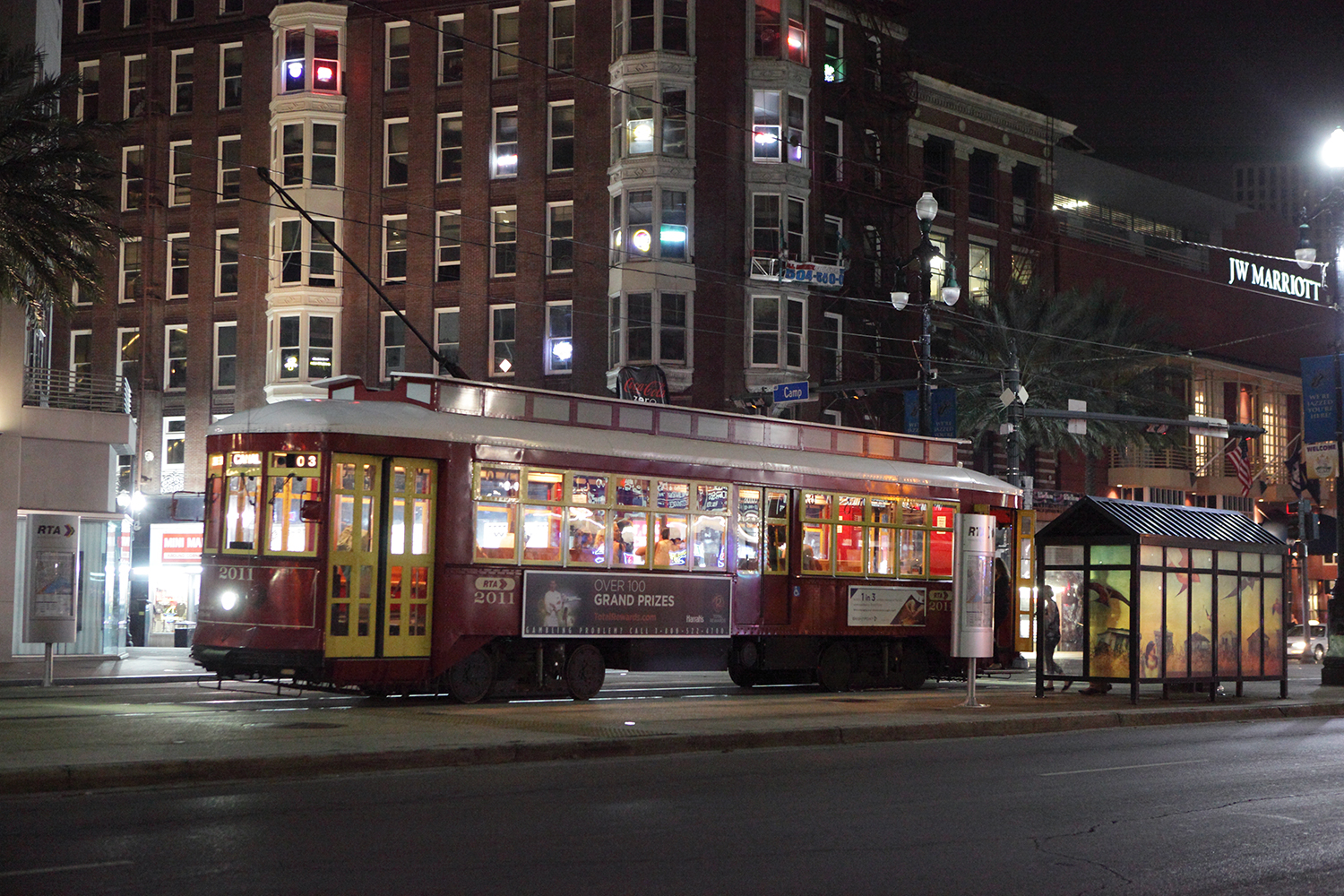 U.S.A. / New Orleans / The red tramcar