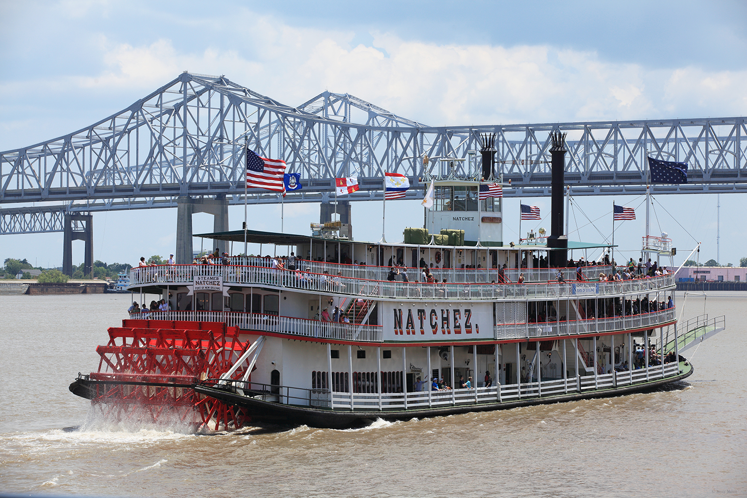 U.S.A. / New Orleans / The river boat