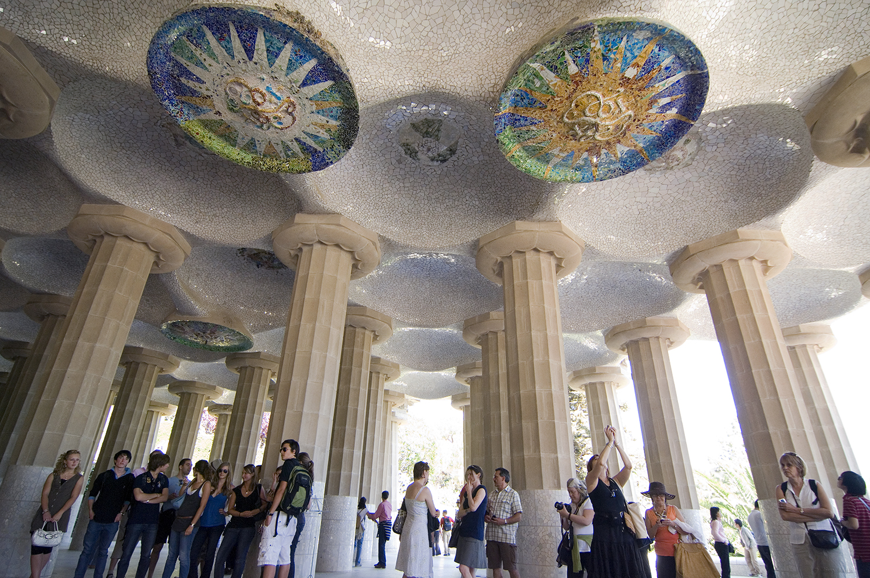 Spain / Barcelona / Park Guell / by Antoni Gaudi