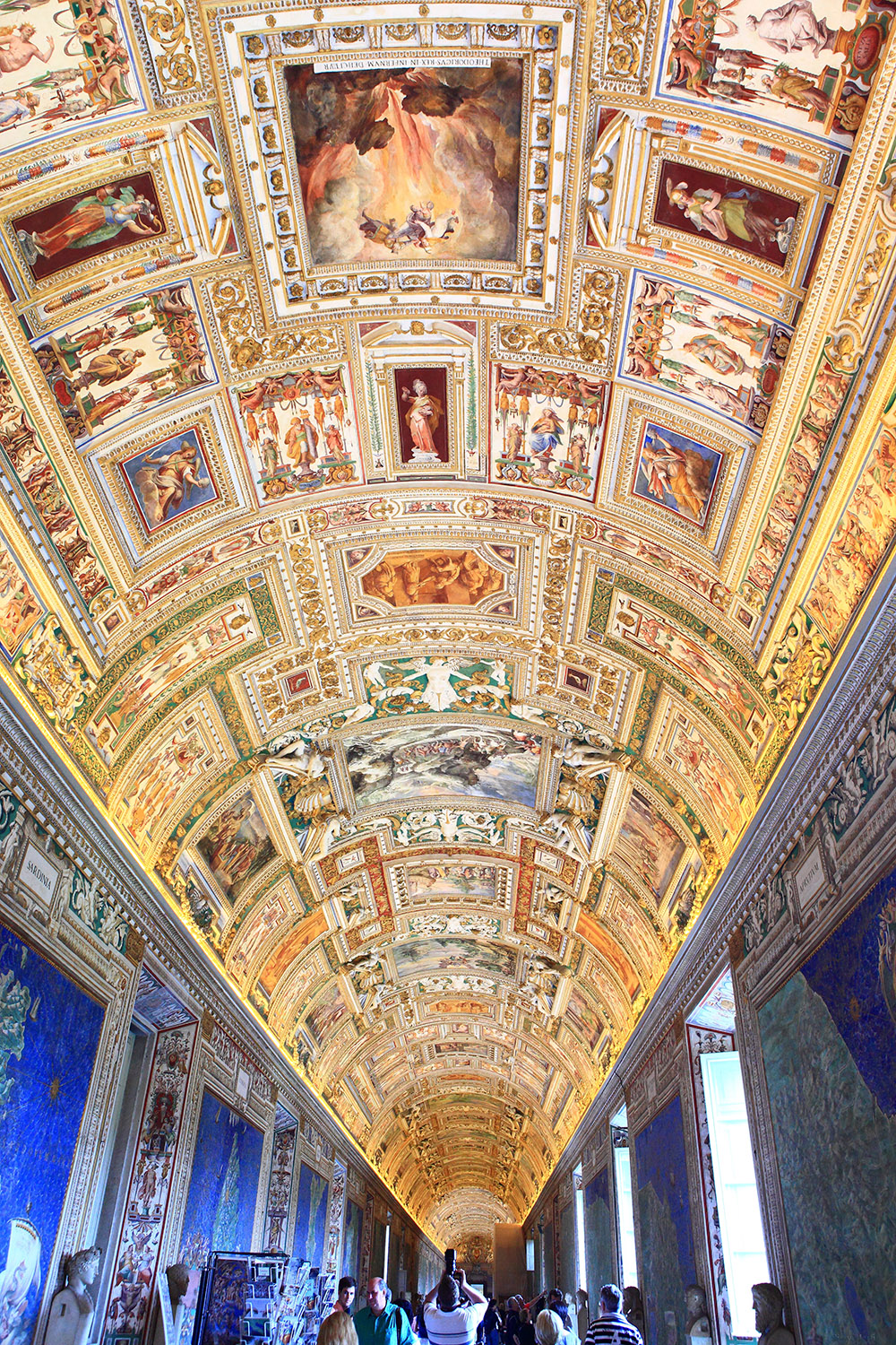 Italy / Vatican-Rome / The Gallery of Maps
