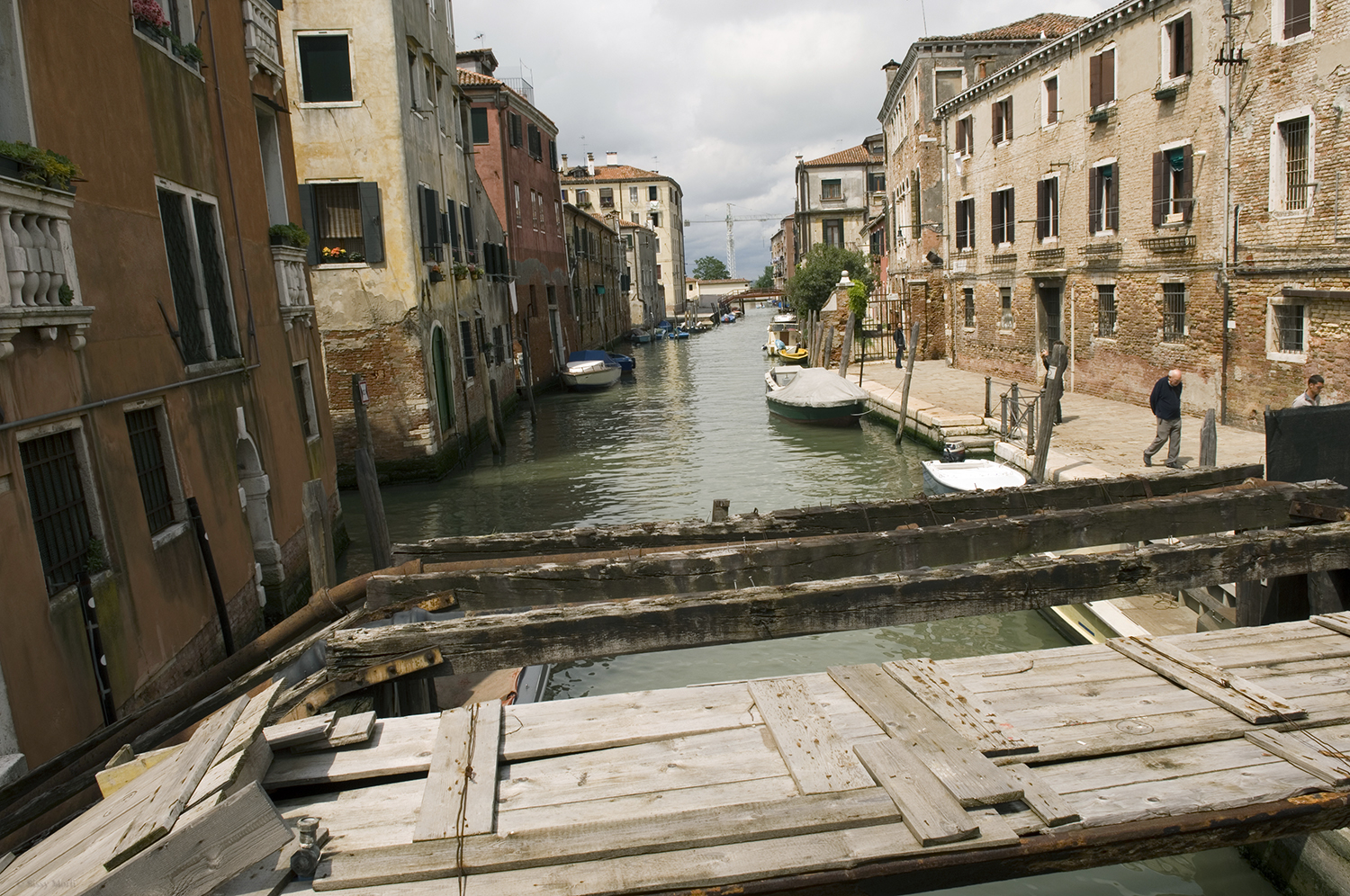 Italy / Venice / Wooden passages