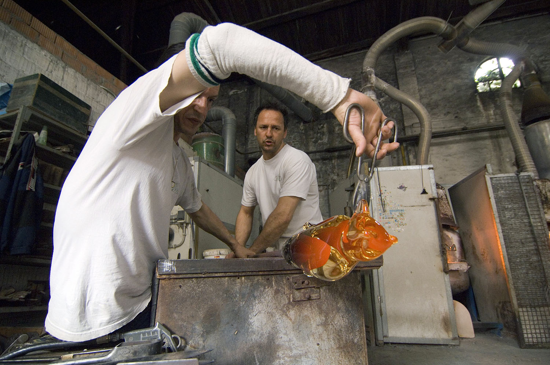 Italy / Murano-Venice / Laboratory glass