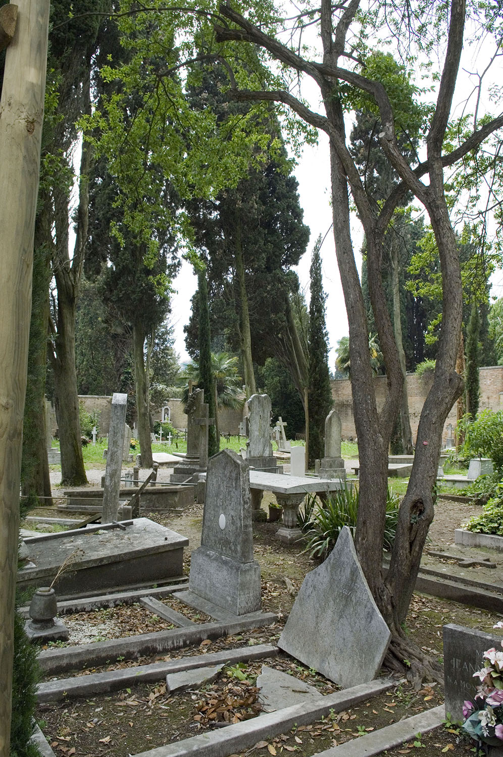 Italy / San Michele island-Venice / View of the cemetery