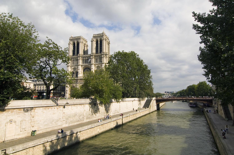 France / Paris / View of Notre Dame