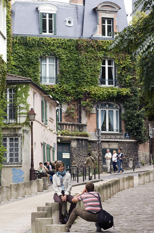 France / Paris / The tourists