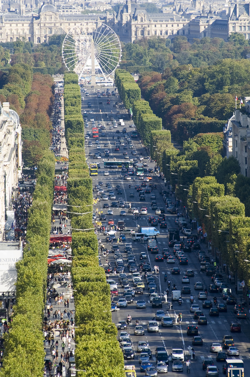France / Paris / View of Champs-Elysee