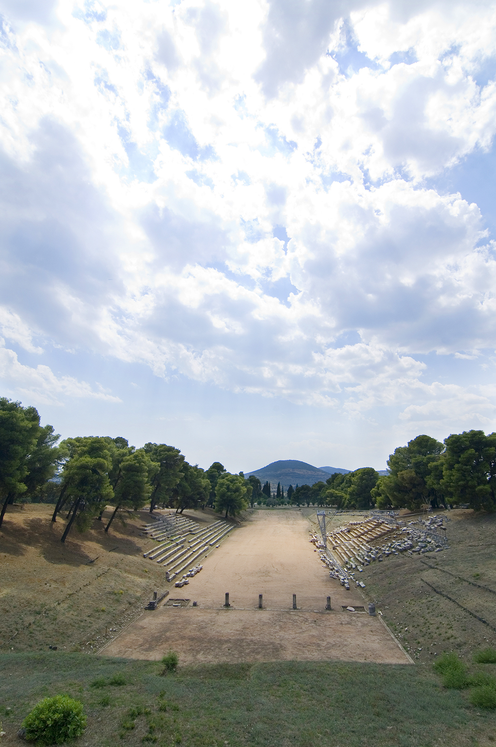 Greece / Epidaurus / Stadium of Epidaurus