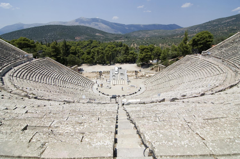 Greece / Epidaurus / The Theatre