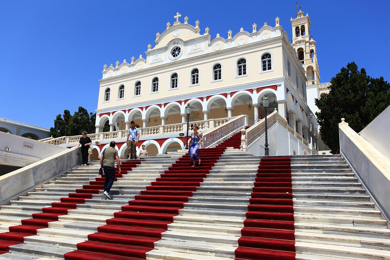Greece / Tinos / The Church of Panagia Megalochari