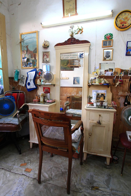 Greece / Tinos / Old barber shop