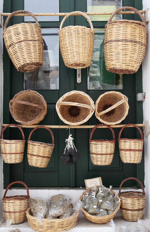 Greece / Naxos / Traditional baskets