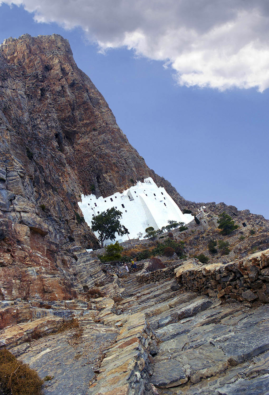 Greece / Amorgos / Monastery Hozoviotissas