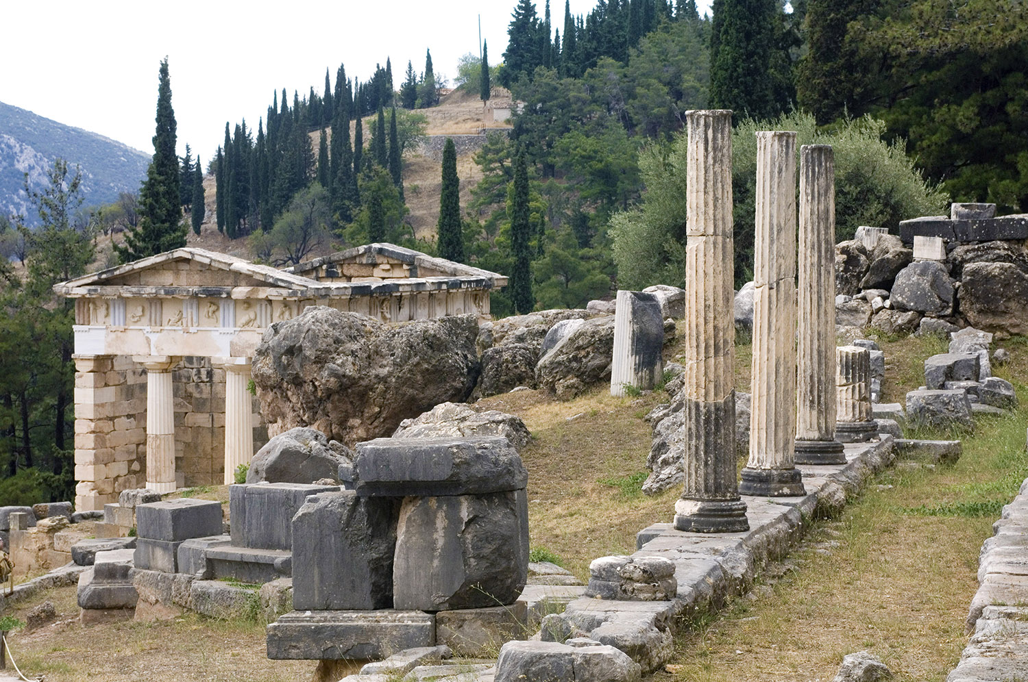 Greece / Delphi / Athenian Treasury